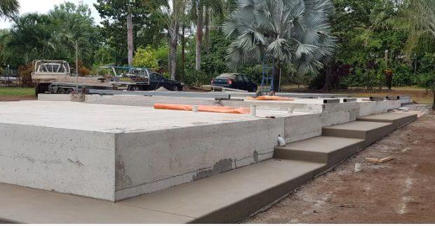 concreting steps amb concreting take